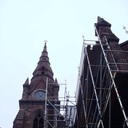 Scaffolding - Chapel Clg 2014-11-3 photo album thumbnail 2
